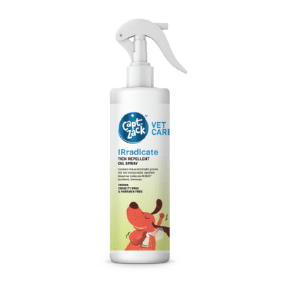 IRradicate Tick Repellent oil spray for dogs