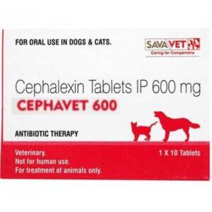 Cephavet 600 cephalexin tablets