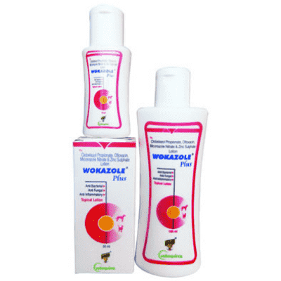 wokazole plus lotion for dogs cats